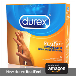 Durex RealFeel Skin-to-Skin Condoms