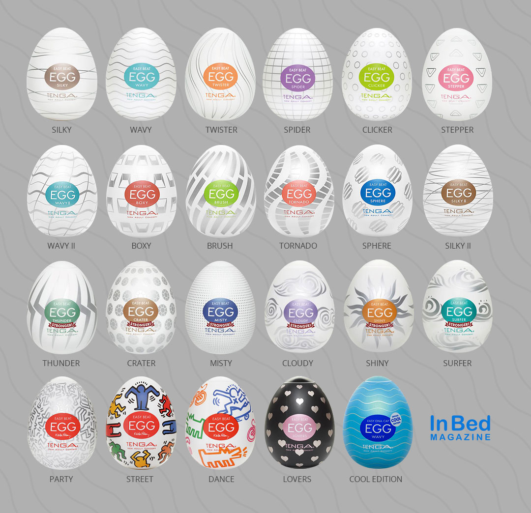 All 23 Tenga Eggs