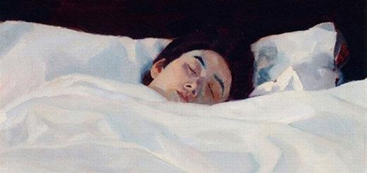 Die Schlafende by Albert Weisgerber (1906) Public Domain