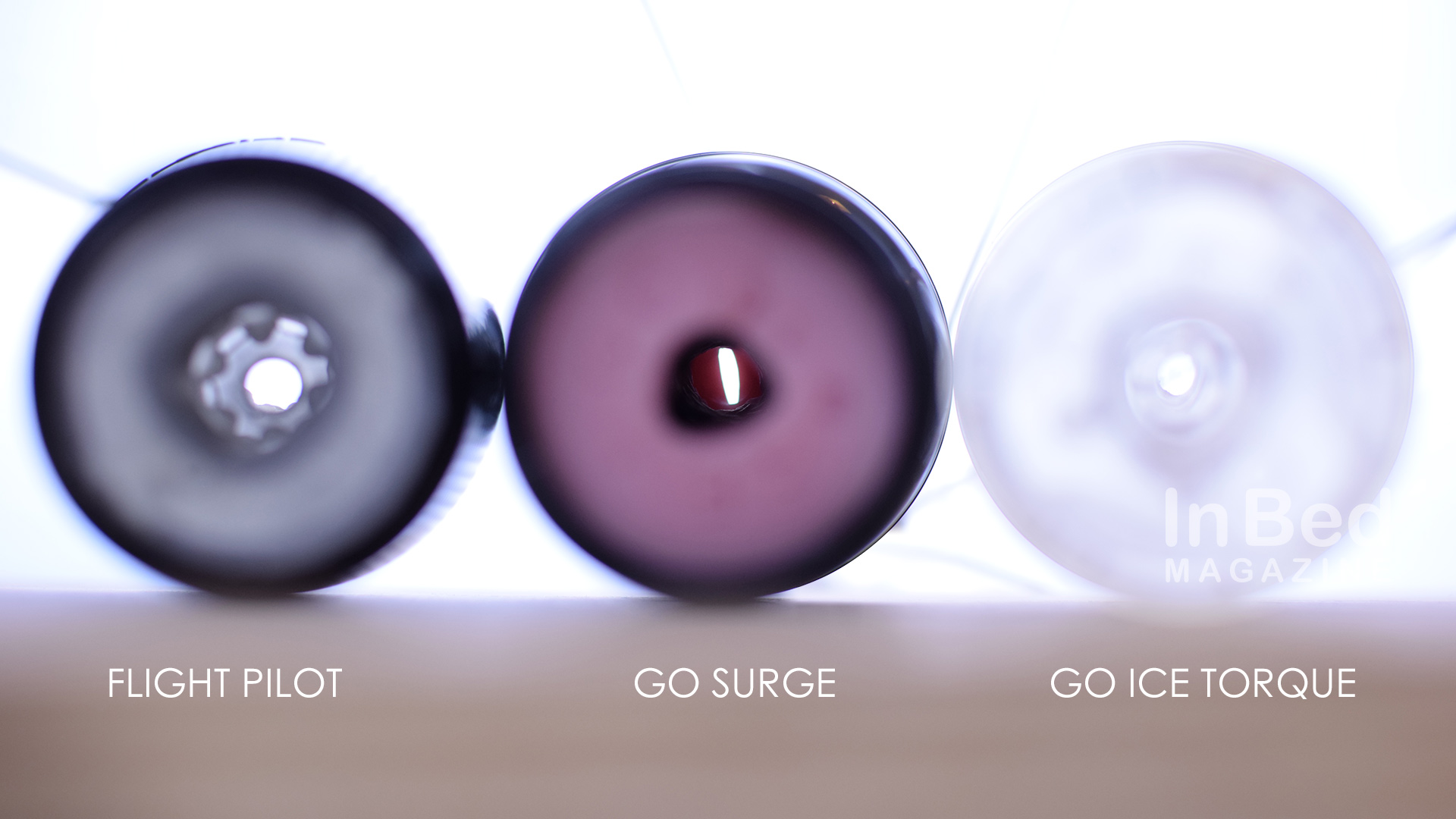 The Fleshlight Flight allows more air to pass through for drying.