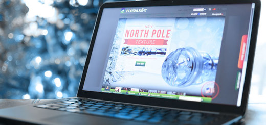 Fleshlight North Pole edition for the holidays, 2014.