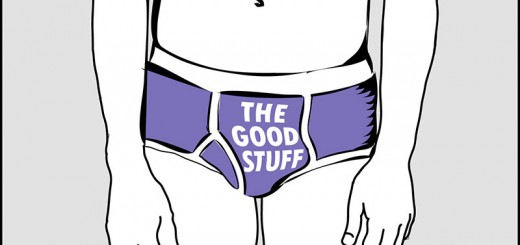 Genitals aren't junk. They're the good stuff.